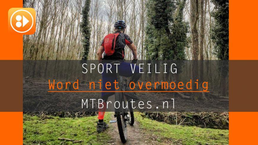 Sport Veilig - Word niet overmoedig