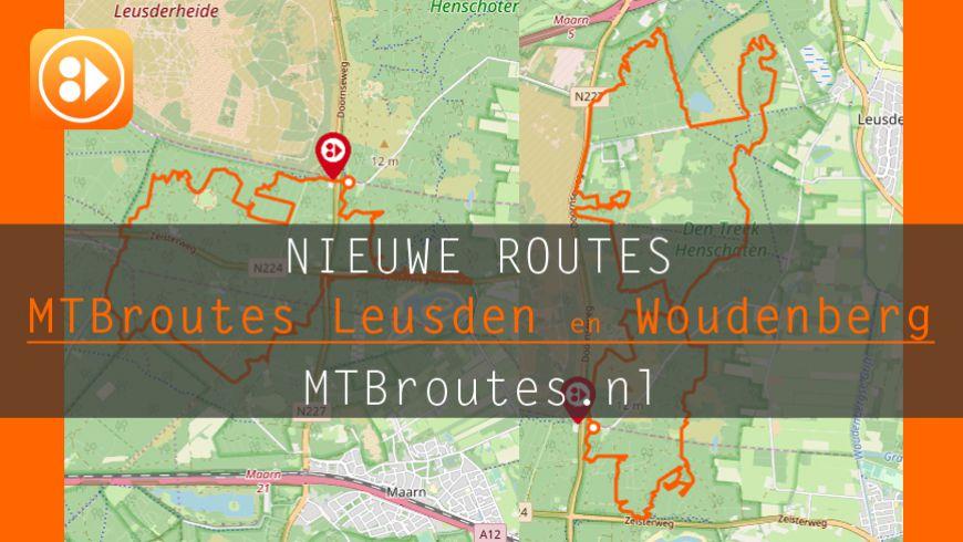 Nieuwe MTBroutes Leusden en Woudenberg