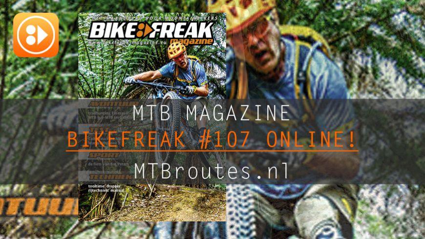 Bikefreak-magazine nummer 108 is uit!