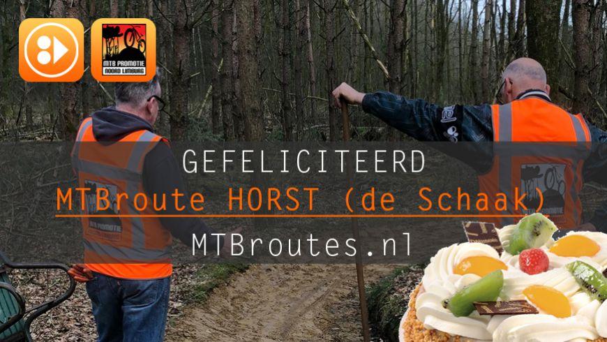 7 jaar MTBroute Horst (de Schaak)