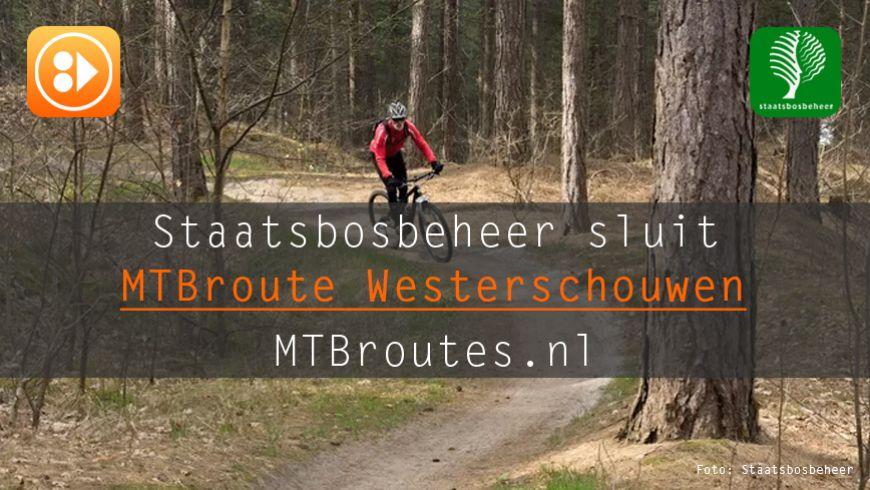 SBB sluit MTBroute Westerschouwen