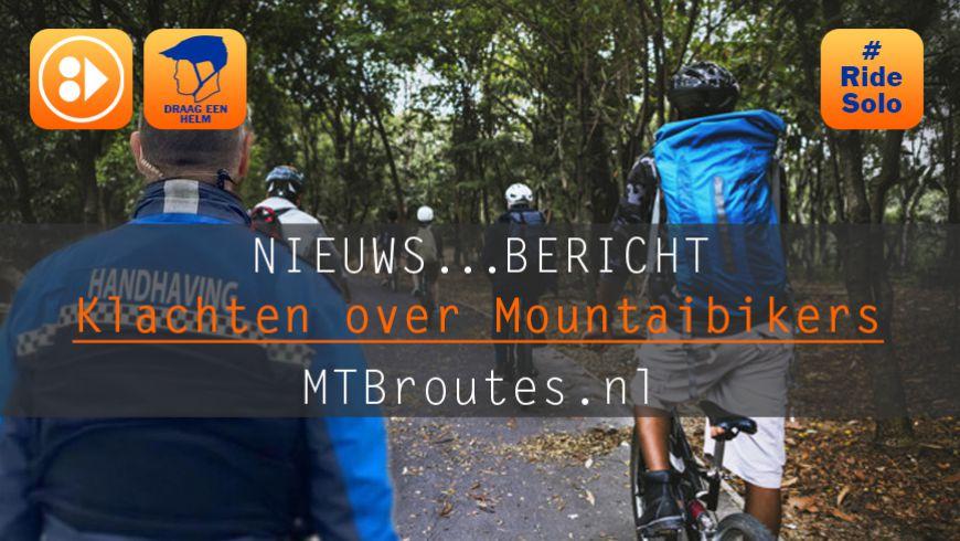Klachten over gedrag Mountainbikers