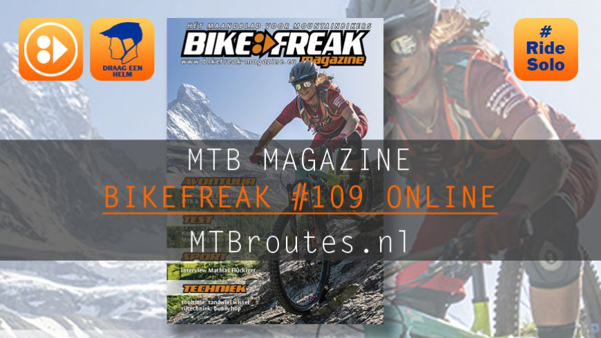 Bikefreak-magazine nummer 109 is uit!