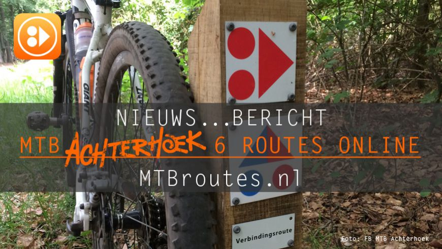 MTB Achterhoek 6 routes online