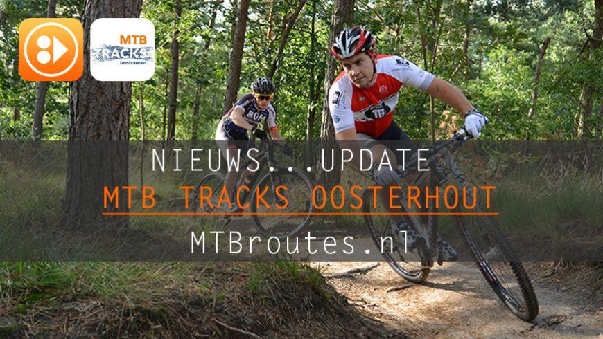 Update (droogte) MTB Tracks Oosterhout