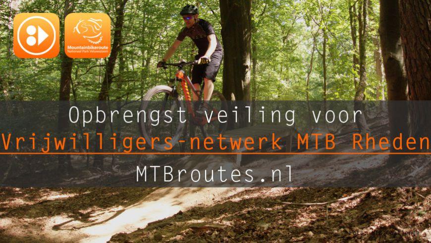 Veiling tbv Vrijwilligersnetwerk MTB Veluwe Zoom