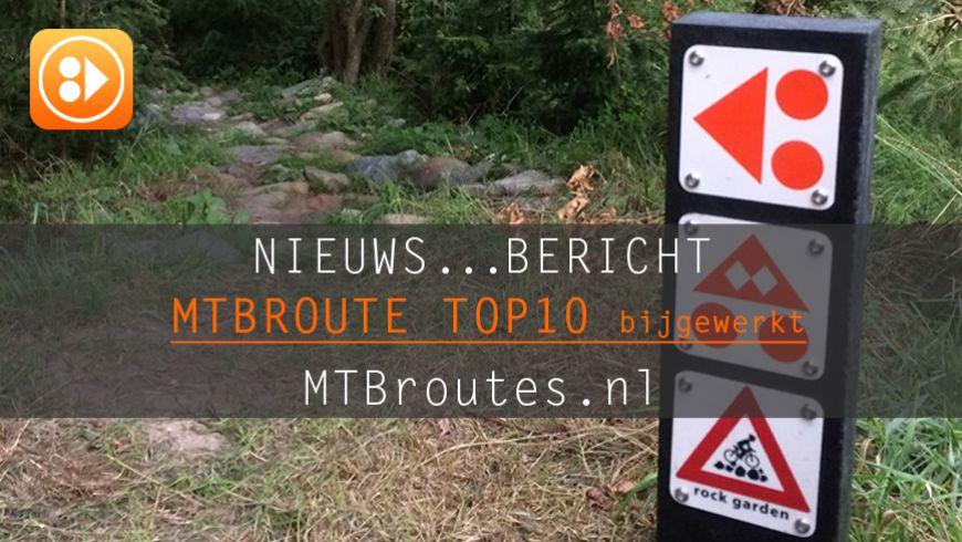 MTBroute TOP10 bijgewerkt 27-06-2020