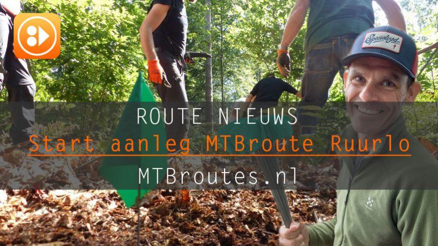 Start nieuwe MTB route Ruurlo