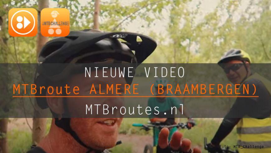 Video MTBroute Almere (Braambergen)