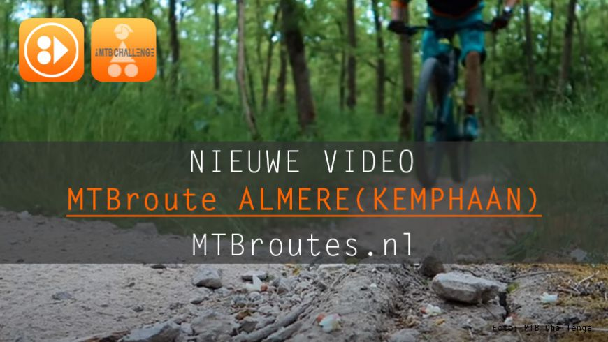 Video MTBroute Almere (Kemphaan)