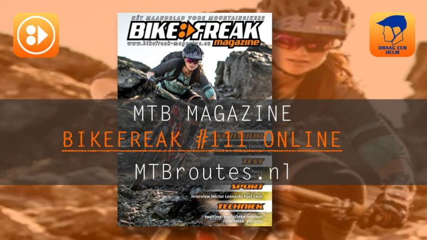 Bikefreak-magazine nummer 111 is uit!