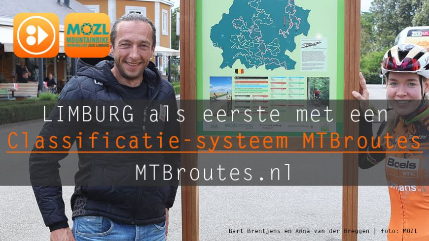 Classificatiesysteem voor MTBroutes