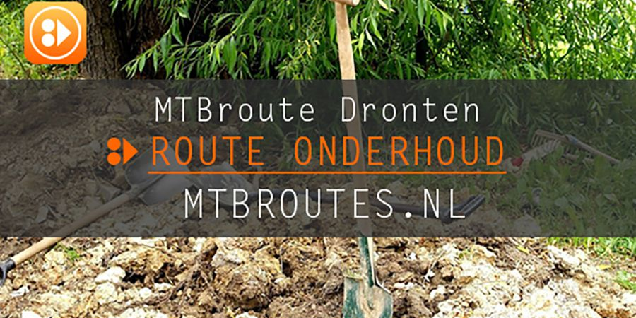 Route Onderhoud MTBroute Dronten