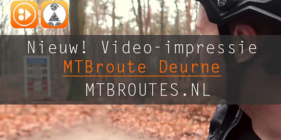 Video-impressie MTBroute Deurne(Walsberg)