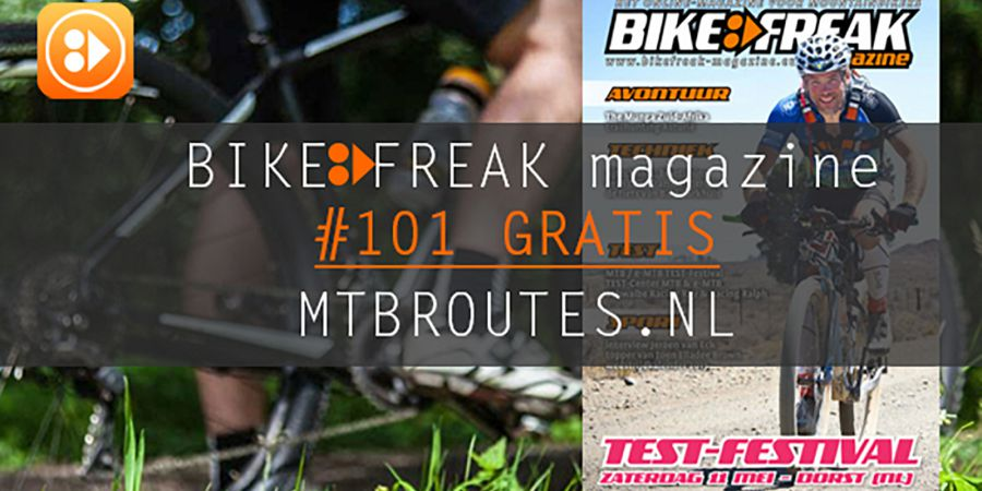 Bikefreak-magazine nummer 101 is uit!